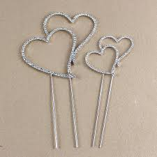 heart cake topper monogram silver diamante wedding anniversary cake topper heart