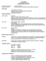 resume text format search skills format of resume