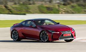first lexus model 2018 lexus lc500 lc500h first drive u2013 review u2013 car and driver