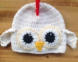 Crochet Baby Halloween Costumes Baby Chicken Hat Etsy