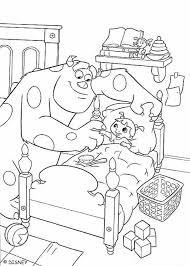 coloring page monsters inc monsters inc coloring pages 26 free disney printables for kids