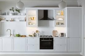 b q kitchen wall cabinets white 25 bright kitchen lighting ideas loveproperty