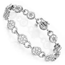 bracelet ladies images Ladies bracelets 14k gold diamond circle bracelet 4 83 jpg