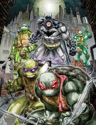 batman teenage mutant ninja turtles 1 dc