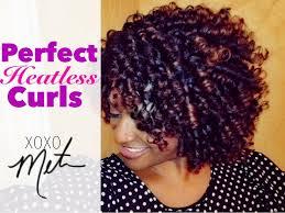 permed hairstyles for medium length hair 28 natural hair tutorial perfect heatless curls flexi rod set