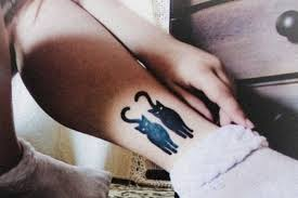 15 good luck black cat tattoo ideas