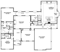 5 bedroom one house plans 1 5 bedroom house plans tarowing