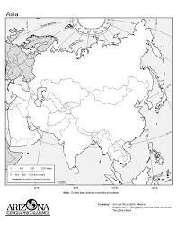 Asia Map Outline by Blank Asia Map Quiz