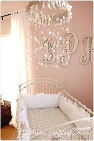 Adding Crystals To Chandelier God Bless Our Nest Diy Crystal Baby Mobile