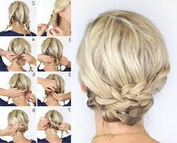 Hochsteckfrisurenen Mittellange Haar Selber Machen Anleitung by Frisuren Zum Selber Machen Für Mittellange Haare In Bezug Auf
