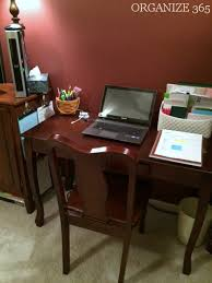 Bedroom Office Desk Making A Bedroom Office Work Organize 365