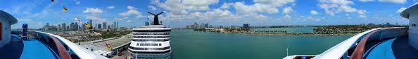carnival breeze cruise review by jim zim click here to view the full size panoramic photo of the port of miami