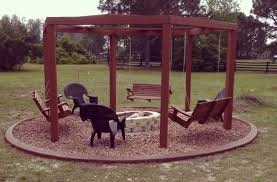 Firepit Swing Swing Set And Pit Fresh Look Outdoors