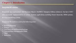 presentation on the strategic value of business intelligence