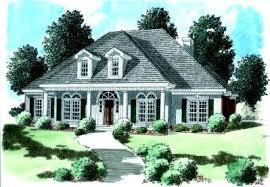 Brick Colonial House Plans 4 Bedroom 2 Bath Colonial House Plan Alp 032b Allplans Com
