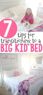 Transitioning Toddler From Crib To Bed 7 Tips For Transitioning To A Big Kid Bed I Can Teach My Child