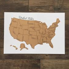 Scratch Off Map Usa by Dreamer Scratch Off Map United States Of America Usa Us