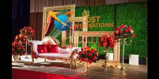 wedding backdrop on stage wedding fiber backdrop panels dst international