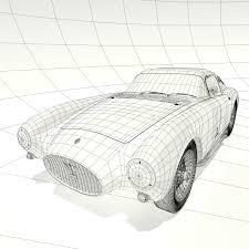 maserati pininfarina berlinetta 1953 maserati a6 gcs 53 pininfarina berlinetta 3d model max obj fbx