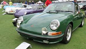 irish green porsche first porsche werks reunion on amelia island scores big time