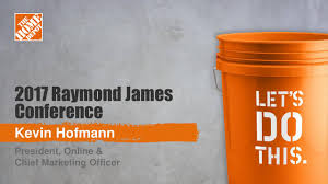 home depot marketing plan the home depot inc to present at raymond james 38th annual