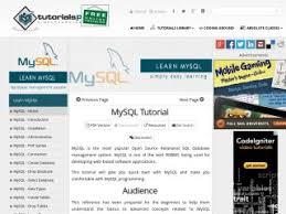 bootstrap tutorial tutorialspoint mysql tutorials for beginners vegibit