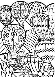 Color Pages Balloon Coloring Pages Birthday Balloon Air Balloon Gianfreda Net by Color Pages
