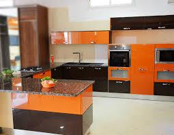 cuisines orange marron chocolat peinture acrylique casa plus tunisie