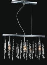 Janine And Vanity 3 Light Chrome Vanity Light From Our Janine Collection 5549w18c