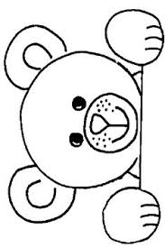 teddy bear printables baby shower teddy bear