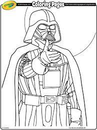 Star Wars Darth Vader Coloring Page Crayola Com Darth Vader Coloring Pages
