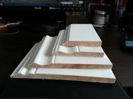 Mdf Cornice China White Putty Plain Cornice Architrave Skirting China Wood