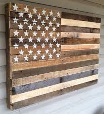 attractive inspiration wooden american flag wall ideas 78