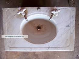 1800s antique victorian marble bathroom vanity sink u0026 faucets 1800