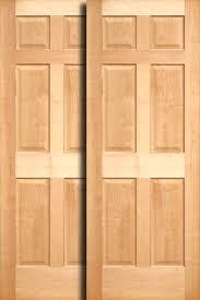 Wood Closet Doors Wooden Closet Doors Contemporary Bi Fold Closet Doors Modern
