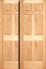 Wooden Closet Door Wooden Closet Doors Stylish Ideas Wood Sliding Closet Doors For
