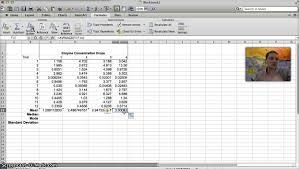 calculating mean median mode u0026 standard deviation in excel