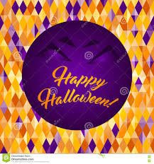 halloween colors background halloween patterned greeting card stock vector image 78768935