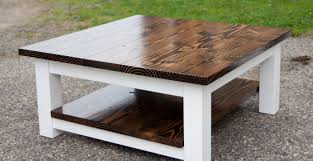 furniture plank coffee table rustic side tables farmhouse