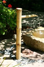 amazon com bamboo accents tall water fountain spout complete