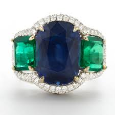 sapphire emerald rings images Rings stephen silver jpeg