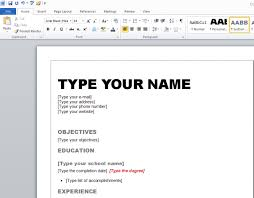 format to make a resume how to create resume format safero adways