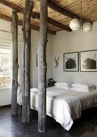Trees Inside Bedroom Pinterest Beams Bedrooms And Rustic Decor - Earthy bedroom ideas