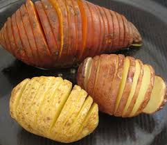 How To Cook A Sweet Potato In The Toaster Oven How To Make Hasselback Potatoes Mother Would Know