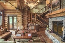 beautiful log home interiors 冬に訪れたい最高級のログハウス 暖炉のある生活っていいよね