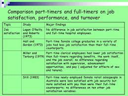 salary for part time jobs in australia full time vs part time salespeople thomas r wotruba a comparison