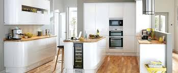 cuisine blanche brillante cuisine blanc brillant cuisine sans poignace blanche et brillante