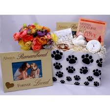 sympathy basket dog lover sympathy basket healing baskets
