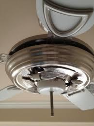 Model Ac 552 Ceiling Fan by 2004 Hampton Bay Fan Callaway Ii But Metal Finish Vintage