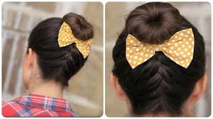 cute girl hairstyles how to french braid french up high bun updo hairstyle ideas cute girls hairstyles